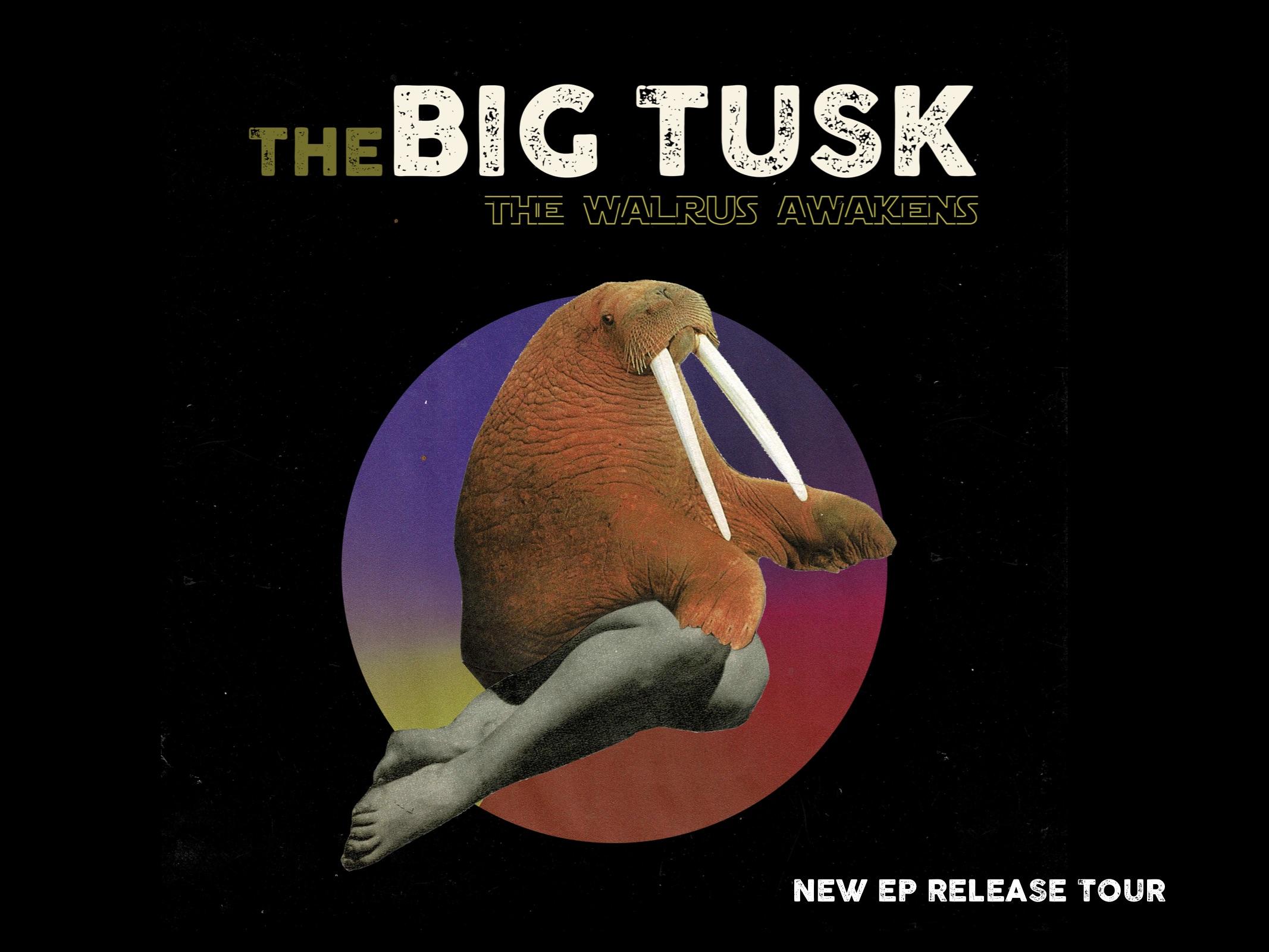 the Big Tusk the Walrus Awakens cover by Anna Kawara-Shems Bendali
